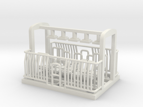 AG/FM Van Handrails, NZ, (OO Scale, 1:76) in White Natural Versatile Plastic