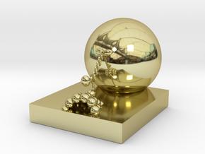 Kinesin in 18k Gold