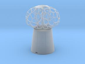 3 petal mini Lamp in Smooth Fine Detail Plastic