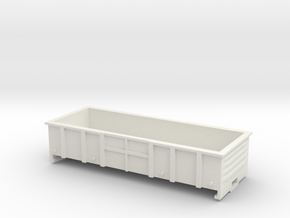 LC Wagon, New Zealand, (S Scale, 1:64) in White Natural Versatile Plastic