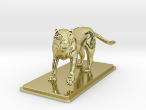 Tiger figure in 18K Gold Plated