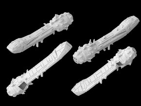 (Armada) Lancer Frigate in White Strong & Flexible