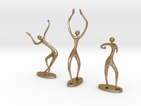 Dance in Polished Gold Steel