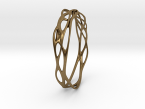 Incredible Minimalist Bracelet #coolest (S or M/L) in Natural Bronze: Small