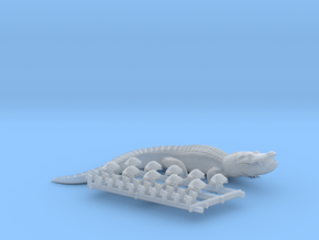 Amphibians- Frogs, Turtles and a 12 foot Gator! HO in Smooth Fine Detail Plastic