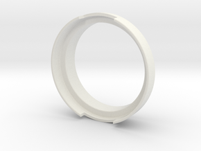 Dosing Ring for Olympia Cremina's Portafilter in White Natural Versatile Plastic