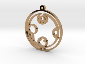 Kayden - Necklace in Polished Brass