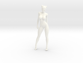 Sexy naked girl 009 scale 1/24 Passed in White Strong & Flexible Polished