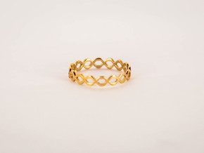 Knot Ring Size 5 in Polished Bronze