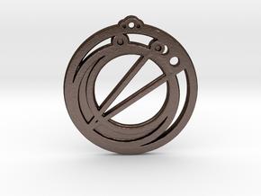 Taurus in Matte Bronze Steel