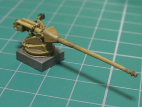 1/144 WW2 German 88mm Pak43  L71  in Smooth Fine Detail Plastic