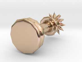 15172 in 14k Rose Gold Plated Brass