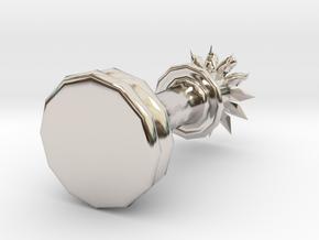 15172 in Rhodium Plated Brass