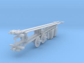 HO: Swedish lattice barrier - complet set in Smoothest Fine Detail Plastic