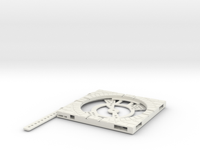 T-165-wagon-turntable-84d-100-plus-base-giant-1a in White Strong & Flexible