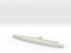 USS Silversides (SS 236) 1/1800 in White Natural Versatile Plastic