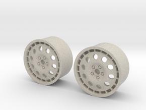 Rims For Lancia Delta S4 Scale 1-10  in Natural Sandstone