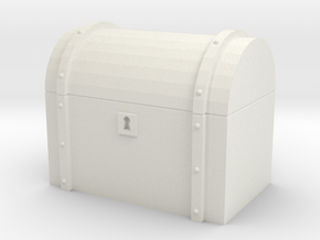 Chest in White Natural Versatile Plastic