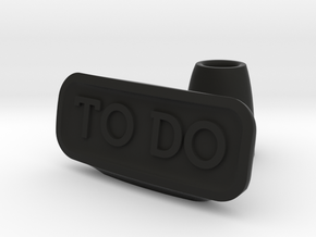 To Do list holder in Black Strong & Flexible