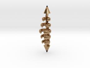 Kasey Spine in Polished Brass