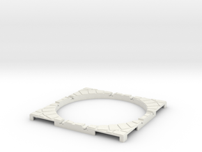 T-165-wagon-turntable-60d-100-corners-giant-1a in White Natural Versatile Plastic
