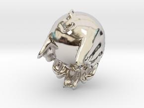 19388 in Rhodium Plated Brass