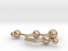 Cytosine in 14k Rose Gold Plated Brass