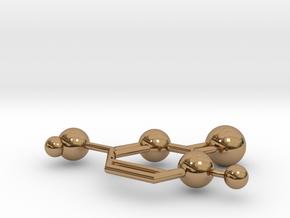 Cytosine in Polished Brass