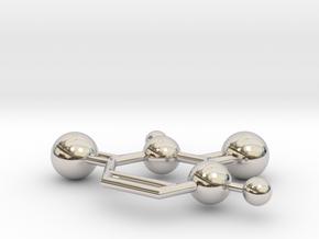 Uracil in Rhodium Plated Brass