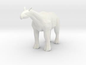 Paraceratherium 1 72(MEST 2015) in White Strong & Flexible