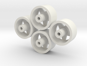German Rim in White Natural Versatile Plastic