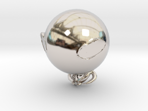 31744 in Rhodium Plated Brass
