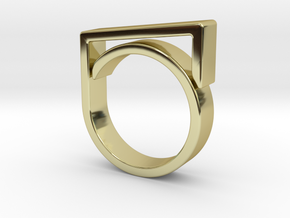 Adjustable ring for men. Model 2. in 18k Gold