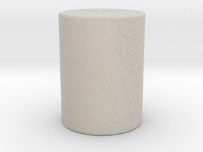 Cylinder in Natural Sandstone