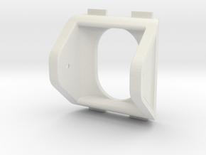 QAV250 FPV Camera Mount (25x25mm) in White Natural Versatile Plastic