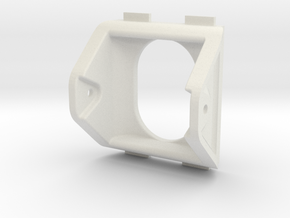 QAV250 FPV Camera Mount (25x25mm plastic) in White Strong & Flexible