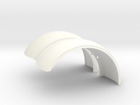 Pete Fenders in White Processed Versatile Plastic