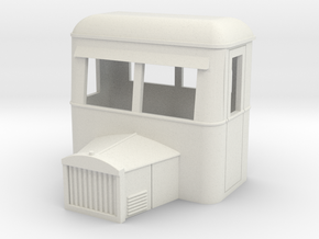 009  goods railbus cab only with bonnet in White Strong & Flexible