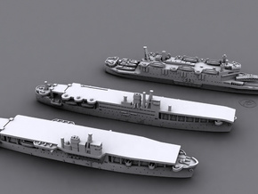 1/3000 IJN Amphibious Assault Ships (Set1)* in Smooth Fine Detail Plastic