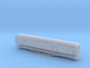 F 56ft Van, New Zealand, (N Scale, 1:160) in Smooth Fine Detail Plastic