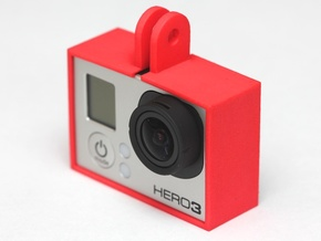 GoPro Hero3 Frame in White Natural Versatile Plastic