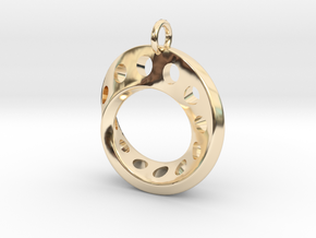 Fantasy-5 in 14k Gold Plated Brass
