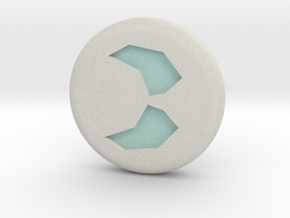 Runescape: Soul Rune in Full Color Sandstone