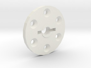 Pinout for 1.55 Steel Beadlocks from rc4wd  in White Natural Versatile Plastic