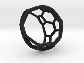 AtasevenRing in Black Natural Versatile Plastic