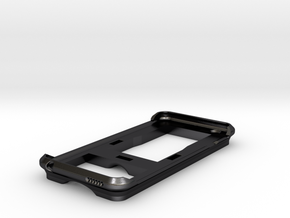 iPhone 6 Mountable Case in Polished and Bronzed Black Steel