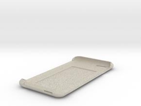 iPhone 6 Case w/ Hidden Card Slot in Natural Sandstone