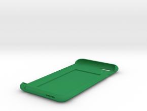 iPhone 6 Case w/ Hidden Card Slot in Green Processed Versatile Plastic