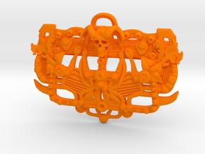 Money-Clip in Orange Processed Versatile Plastic