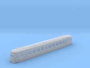 Triebwagen 4042 1:160 in Smooth Fine Detail Plastic